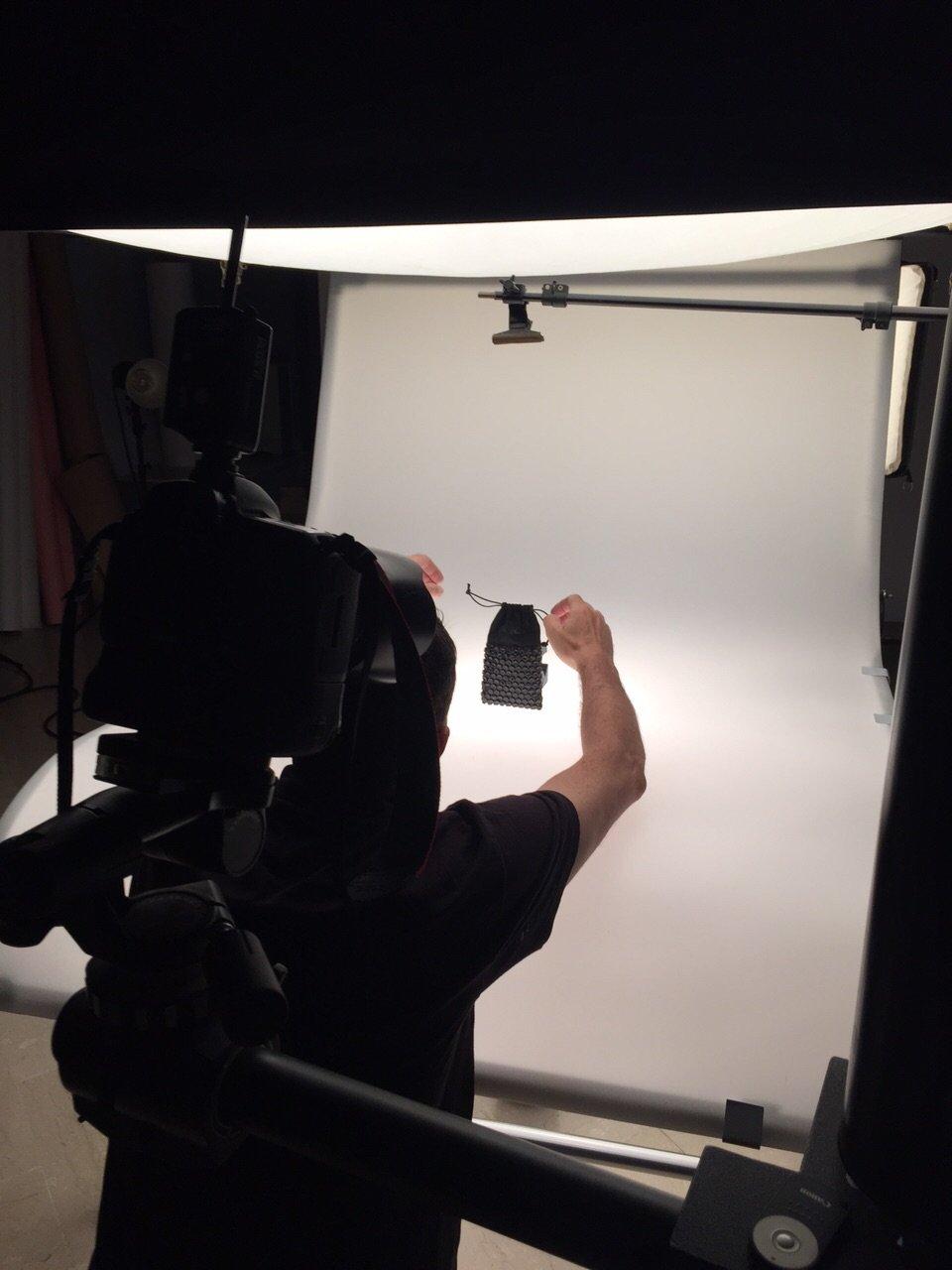 Backstage fotografie nuovi prodotti Ceitex