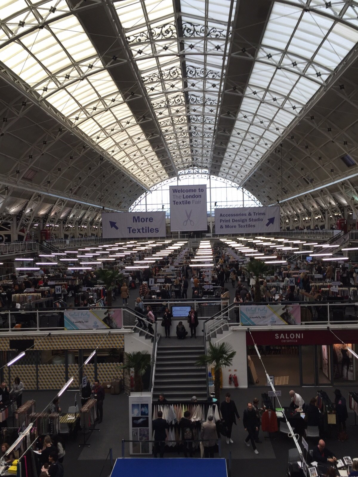 Great location for London Textile Fair