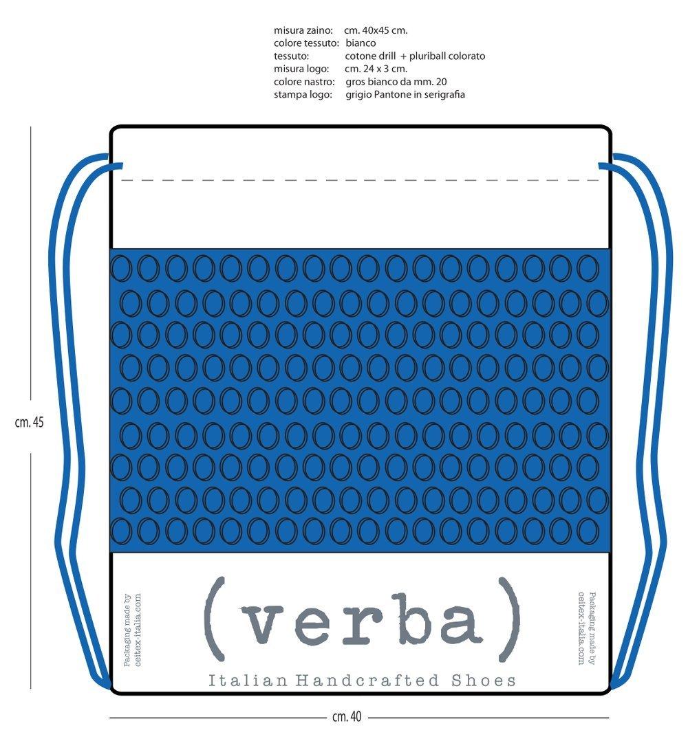 Progetto dello zaino promozionale Verba-Ceitex per Pitti