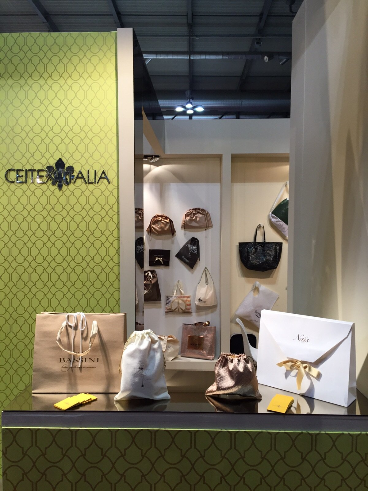 Ceitex Italia Stand at LineaPelle