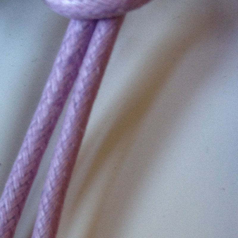 corda cotone cerato spessore mm. 3