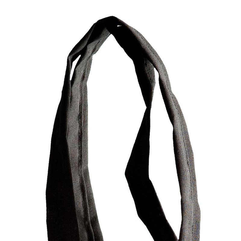 manico in tessuto tela cotone cucito doppio