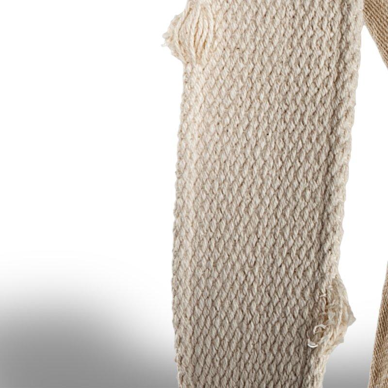 nastro cotone pesante vintage spessore mm. 40