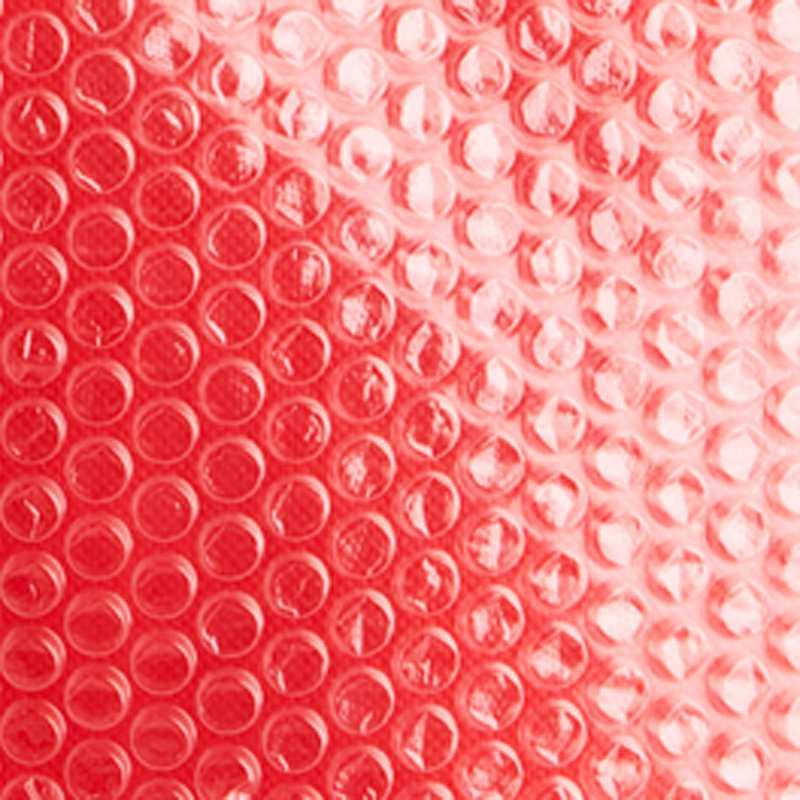 pluriball trasparente accoppiato a tessuto